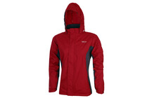Regatta Kids Road Runner Jacket chilli pepper/iron